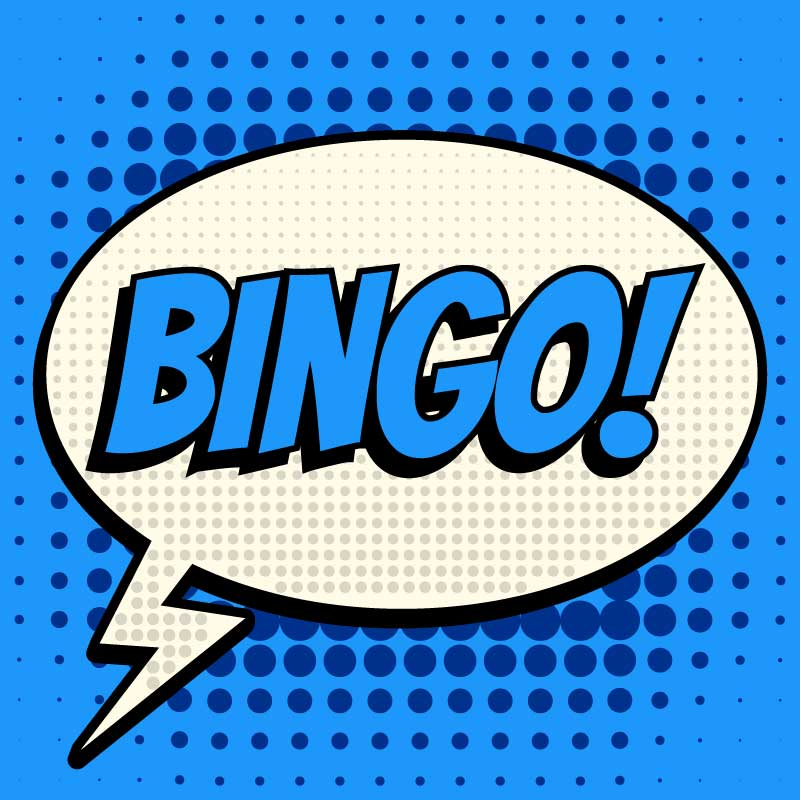 Cornwell Center Bingo